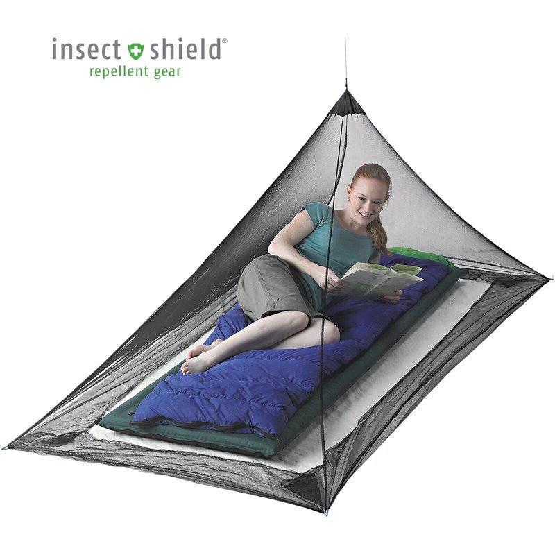 Сітка від комарів Sea To Summit Mosquito Net Single Black (STS AMOSS)