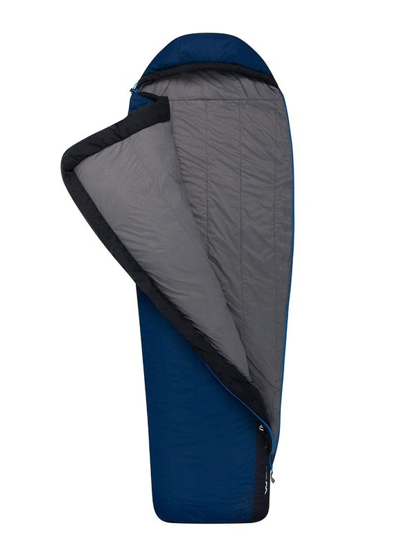 Спальный мешок Sea to Summit Trailhead ThII (5/-1°C), 183 см (Wide) - Left Zip, Cobalt/Midnight (STS ATH2-RW)