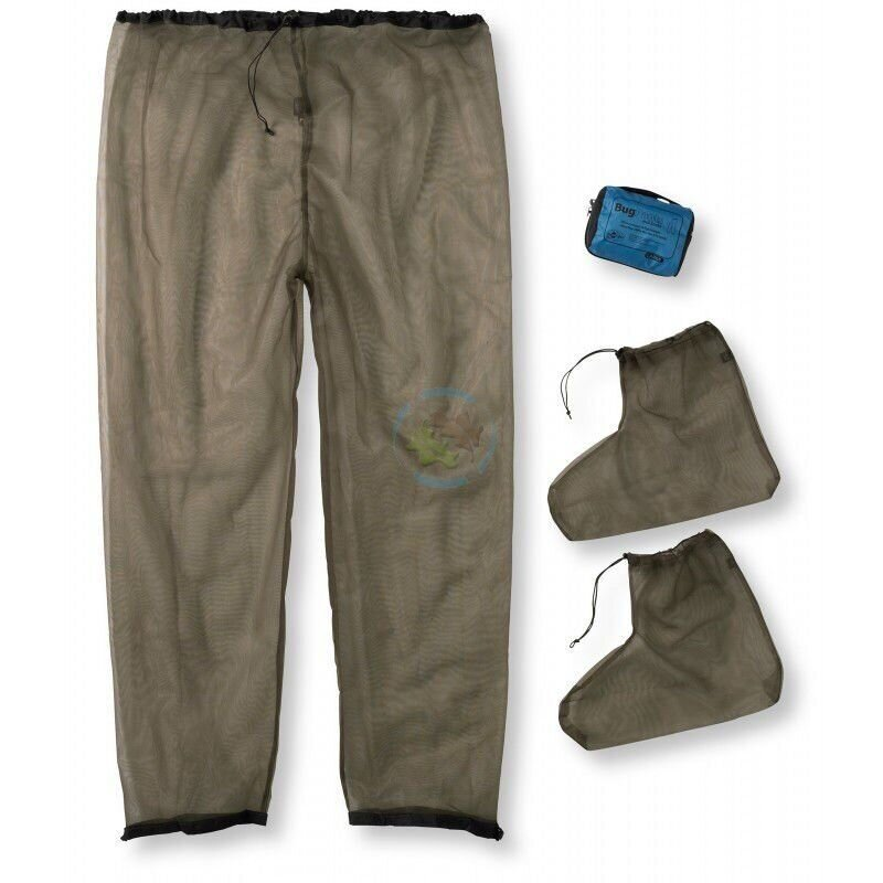 Штани від комарів Sea To Summit Bug Pants Olive, L (STS ABUGPSLG)