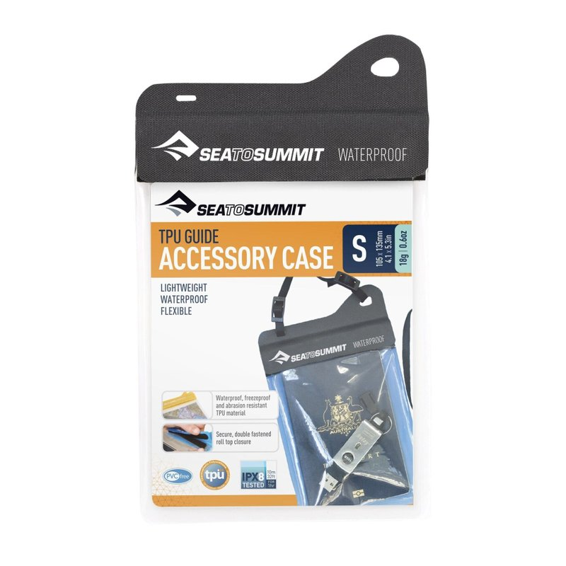Гермочехол Sea To Summit - TPU Accessory Case Black, 13 х 10 см (STS AACTPUSBK)