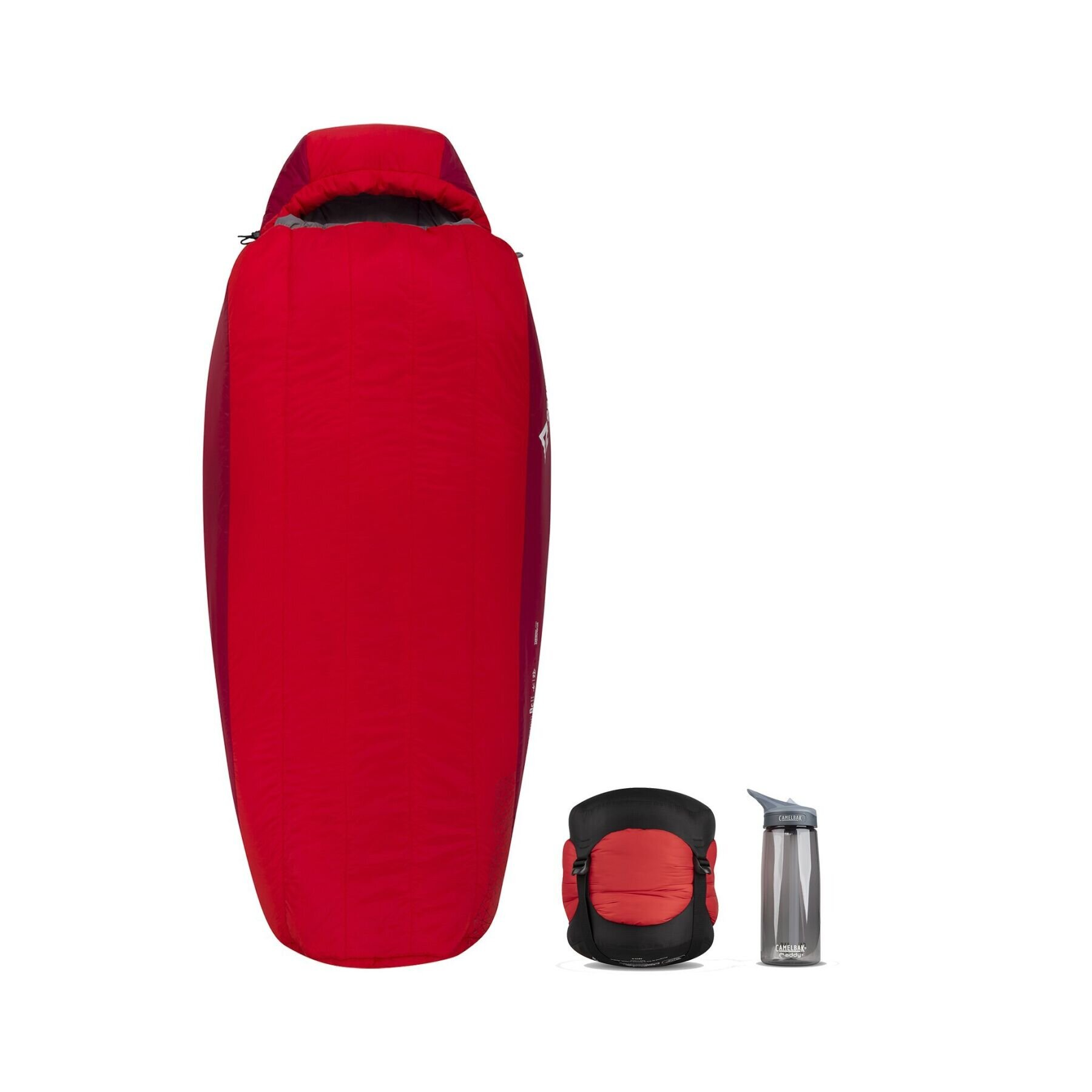 Спальный мешок Sea To Summit - Basecamp Synth-BT3 Red, 183 см - Left Zip (STS ABT3-R160)