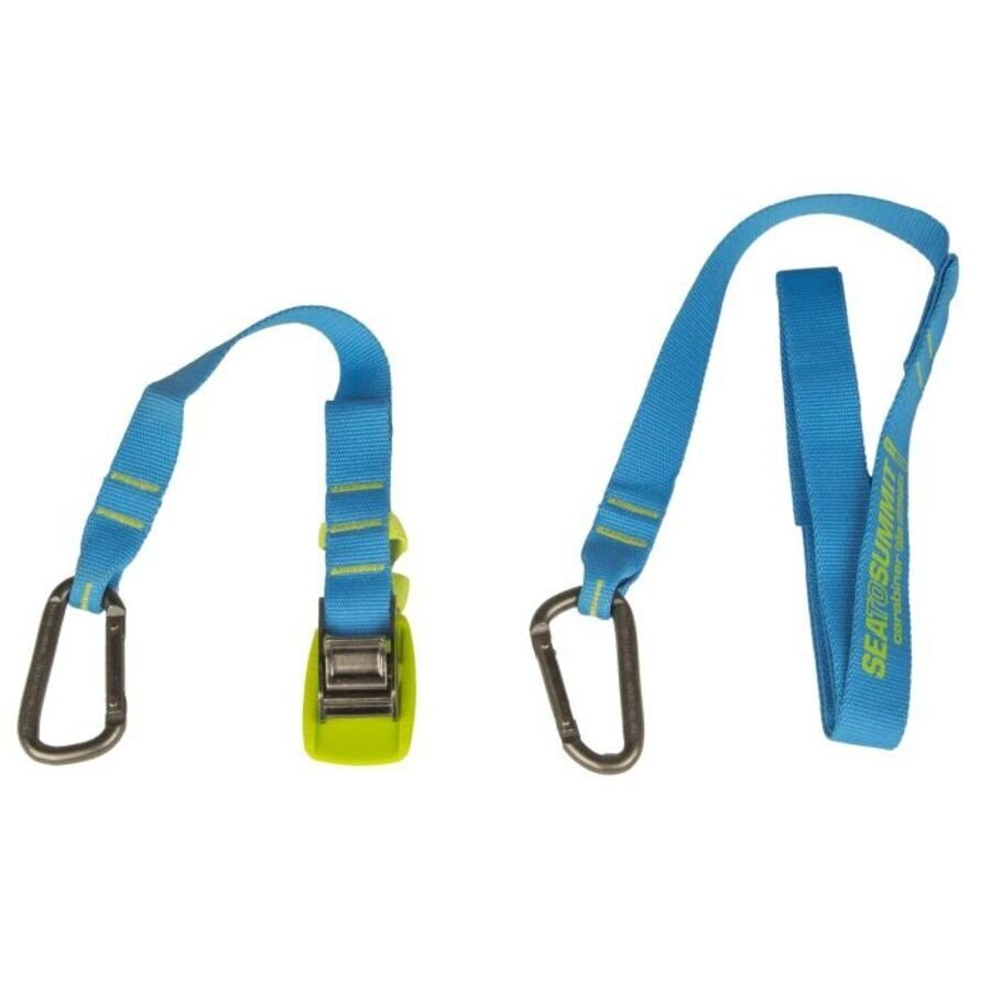 Стяжний ремінь Sea To Summit - Carabiner Tie Down 2 Pack Blue, 2 м (STS ACTD2)