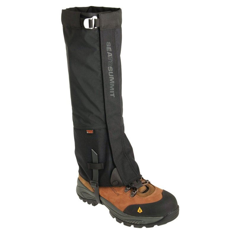 Гетры Sea To Summit - Quagmire Canvas Gaiters Black, 42 см (STS AHDGL)