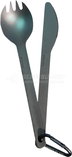 Набор столовых приборов Sea To Summit - Titanium Cutlery Set 2 Grey (STS ACUTTSET2)