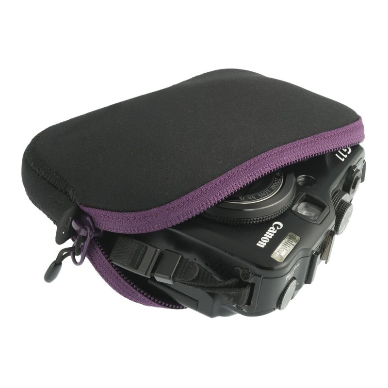 Чехол Sea To Summit - TL Padded Pouch Aubergine/Black, 15.2 х 10 х 2.5 см (STS ATLPPMA/B)