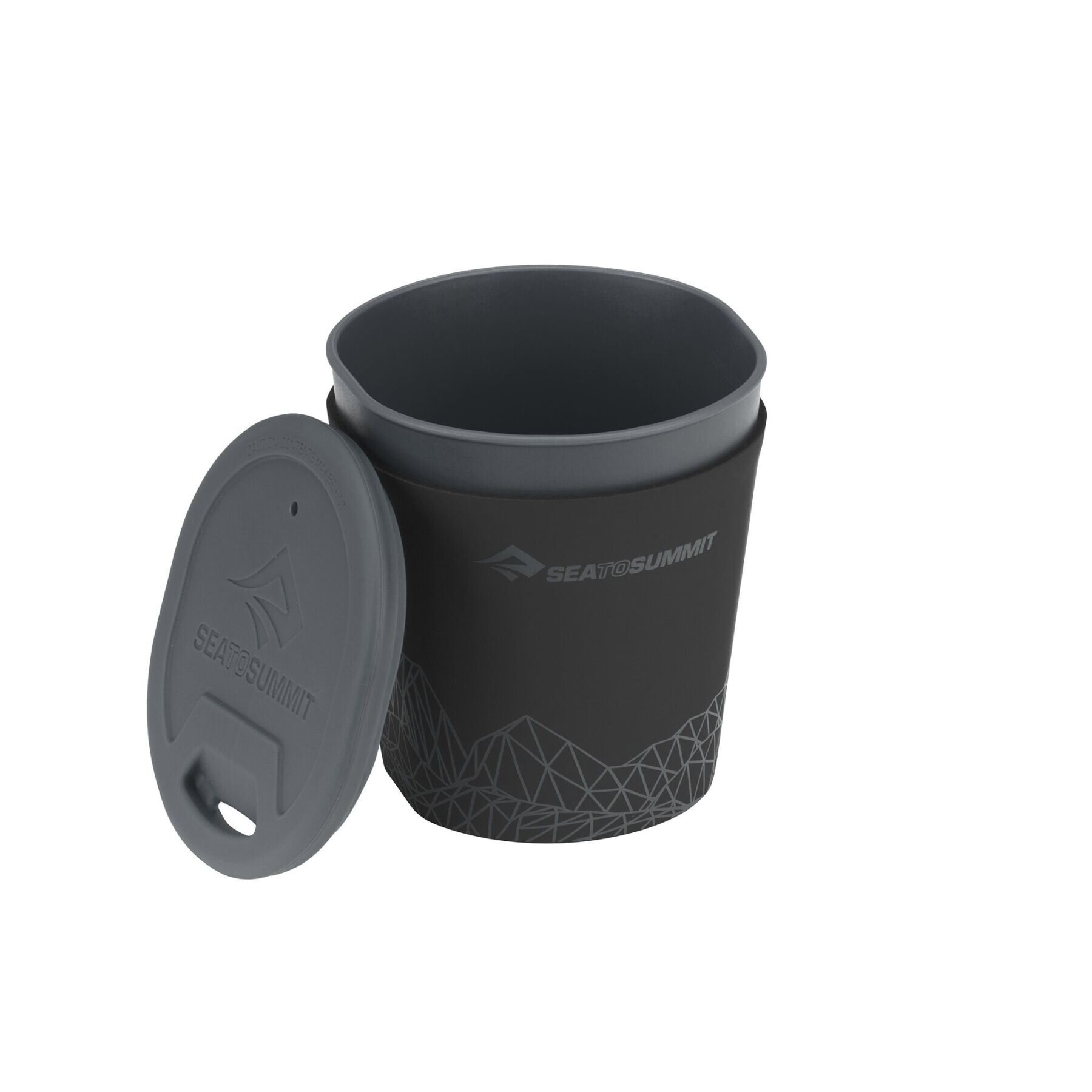 Стакан с крышкой Sea To Summit - DeltaLight Insulmug Grey, 350 мл (STS ADLTINMUGGY)