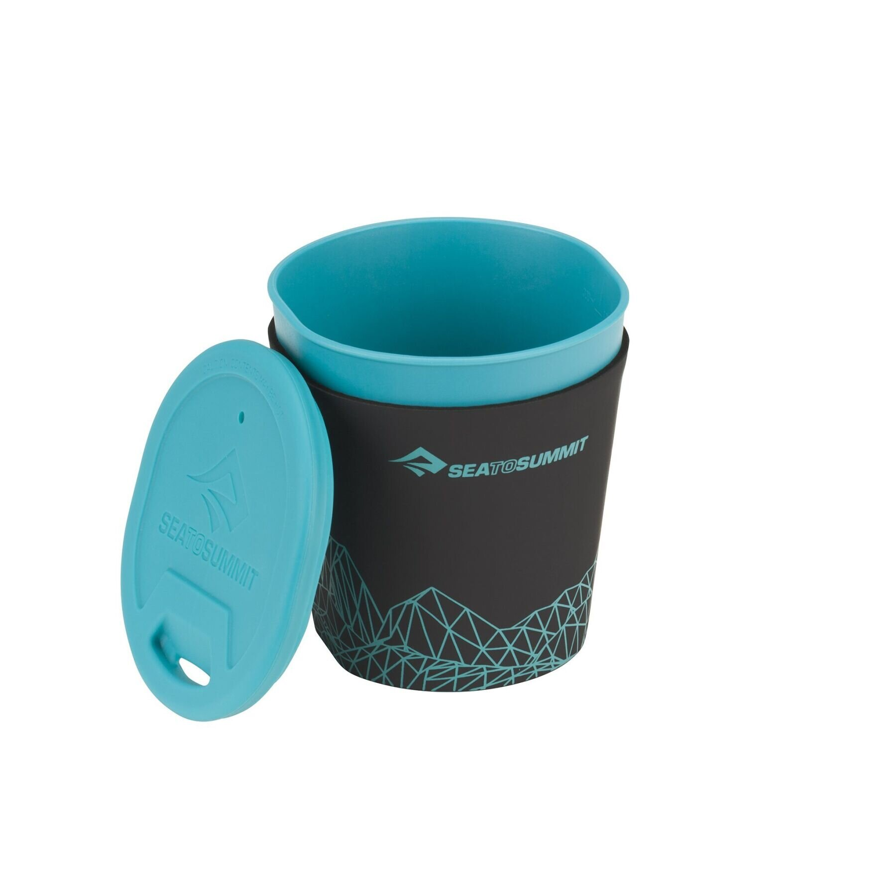 Стакан с крышкой Sea To Summit - DeltaLight Insulmug Pacific Blue, 350 мл (STS ADLTINMUGPB)
