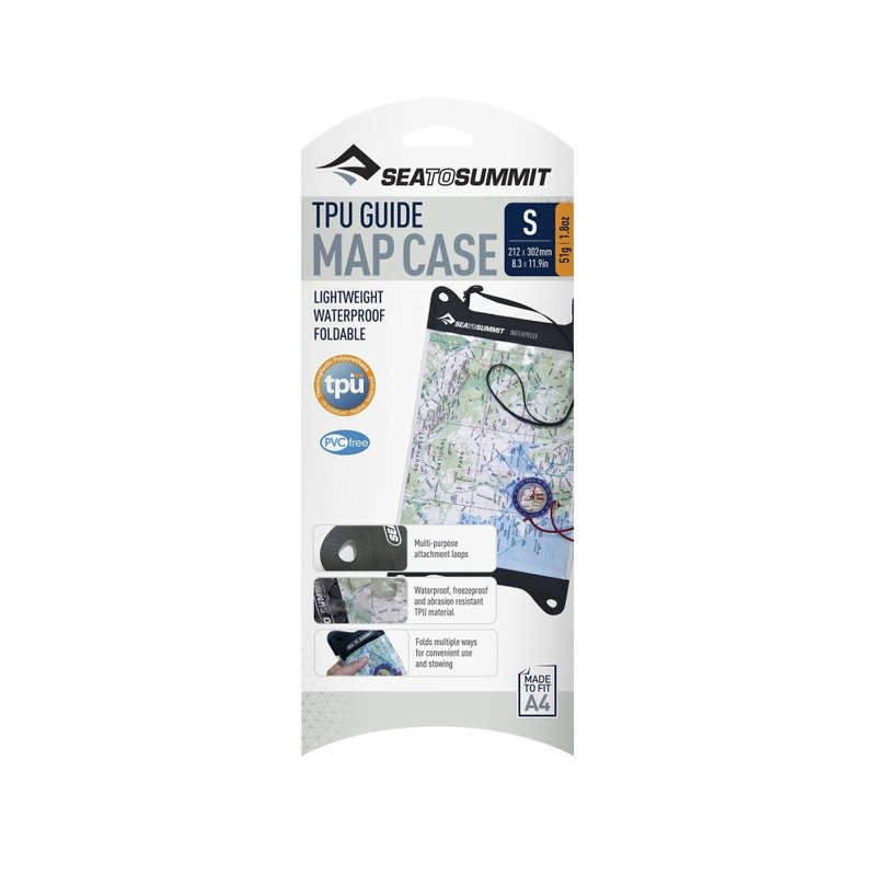 Гермочехол для карти Sea To Summit - TPU Guide Map Case Black, 30.5 х 21 см (STS AMAPTPUS)