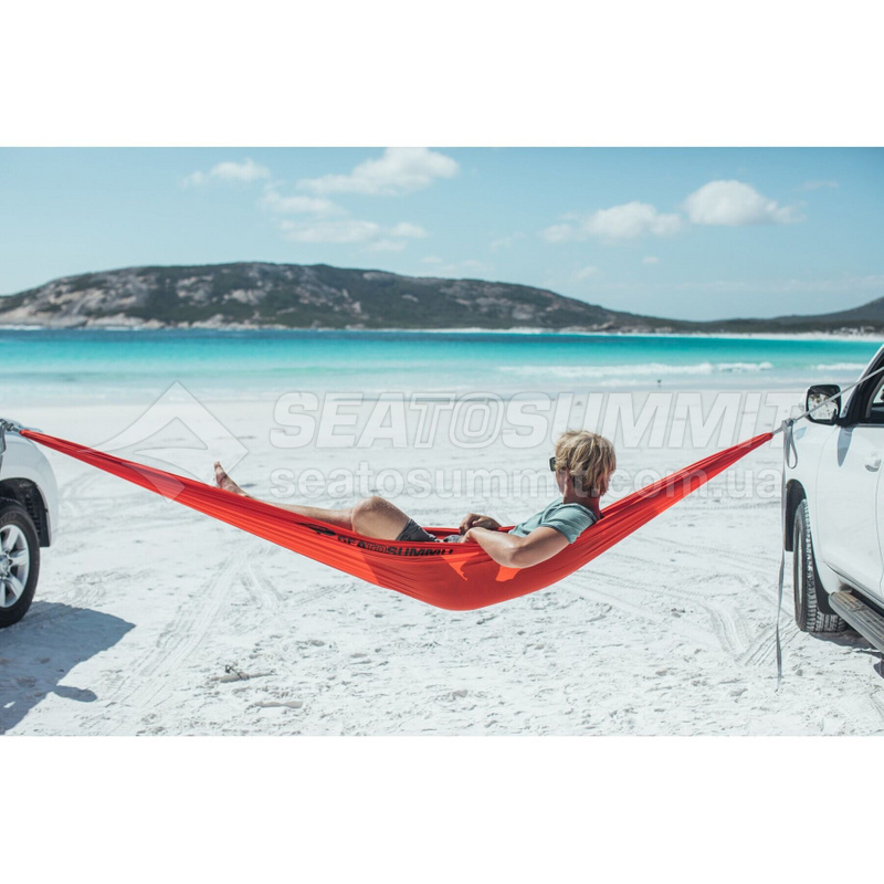 Гамак Sea To Summit - Hammock Single Lime, 3 м х 1.5 м (STS AHAMSLI)